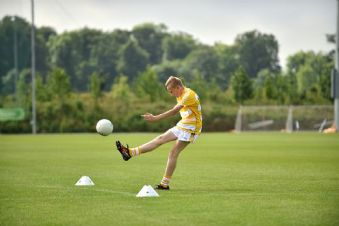 Ruairi O'Boyle competes in the John West National Skills Challenge in Dublin