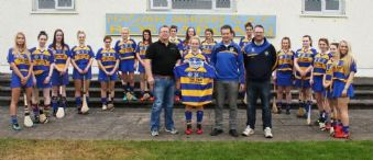 Tony O'Kane Sponsors St.Mary's Junior Camogs