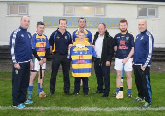 Martin Contracts sponsors St.Mary's Rasharkin Hurling Team